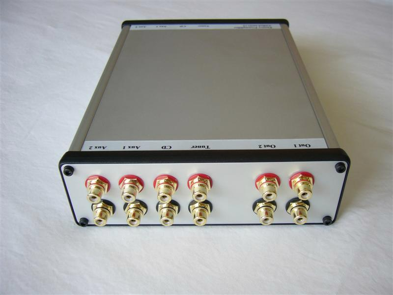 Passive Preamplifier - Back View
