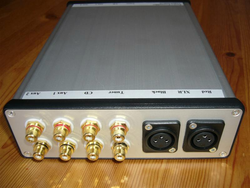 Passive Preamplifier - Balanced Back